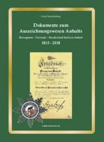 Dokumente zum Auszeichnungswesen Anhalts