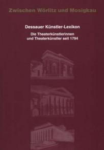 Dessauer Künstler-Lexikon, Band III