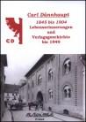 Carl Dünnhaupt Lebenserinnerungen 1845 bis 1904